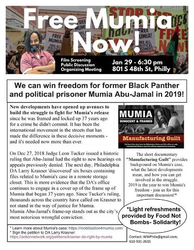 Free Mumia Flyer