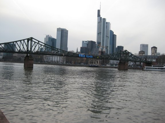 Transpi in Frankfurt am Main