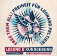 Lesung für Leonard Peltier in der Schwarzen Risse 13.09.19
