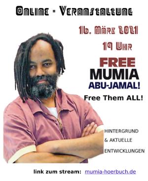 Poster zu Onlineveranstaltung am 16.03.21