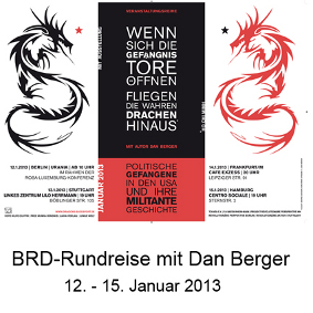 Dan Berger Tour 2013