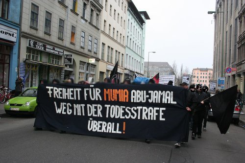 Demonstration 13.12.08 Berlin