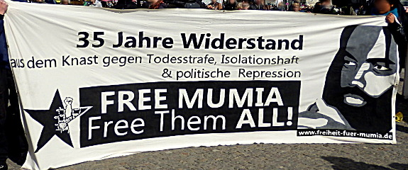 Transparent: 35 Jahre Widerstand - Free Mumia, Free them all