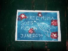 Free Mumia Goes Fusion 2014
