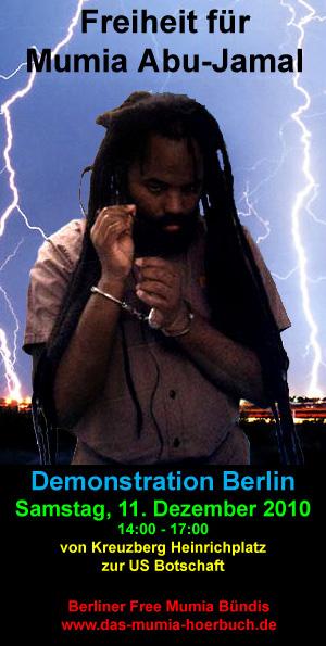 Free Mumia Demo 11.12.2010