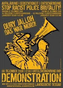 Oury Jalloh Demo 8.12.08