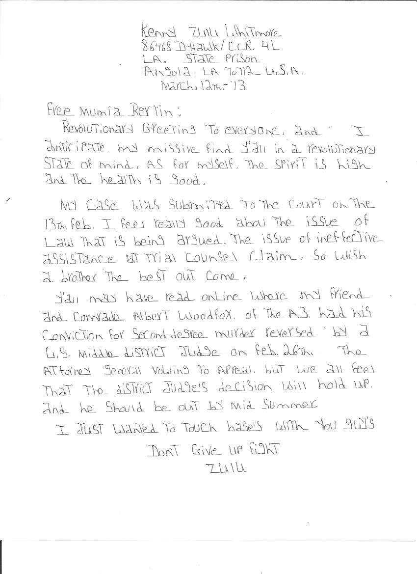 Freiheit Für Mumia Abu Jamal