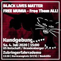 Demo und Kundgebung am 04.07.2020 in Berlin