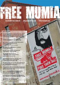 Mumia Wandzeitung
